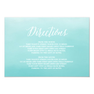 Seaside | Direction Enclosure Card