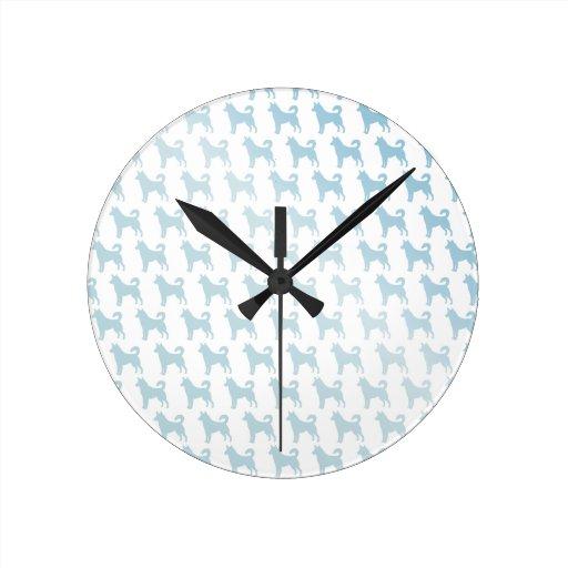 Seaside Dogs Wall Clock