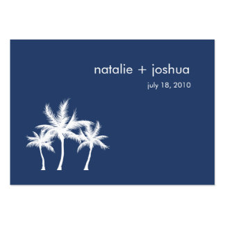 Seaside Dreams Wedding Directions Enclosure Card Large Business Card