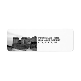 Seaside Fortress in Korcula Label