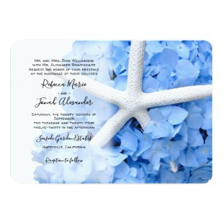 Seaside Garden Parents Names Coastal Wedding Invitation
