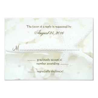 Seaside Garden Wedding Invitation Reply Cards