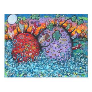 Seaside Harmony Post Cards