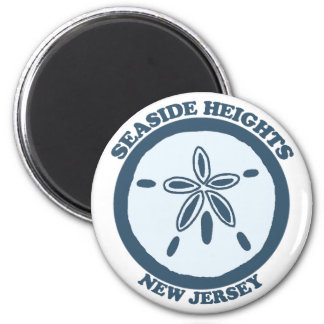 Seaside Heights. 2 Inch Round Magnet