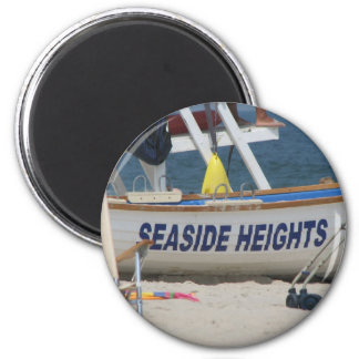 Seaside Heights 2 Inch Round Magnet