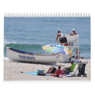 Seaside Heights Beach Boardwalk Calendar