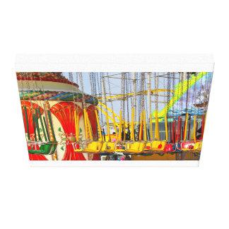 Seaside Heights Boardwalk I Canvas Print