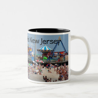 Seaside Heights Casino Pier Two-Tone Coffee Mug