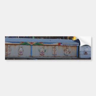 Seaside Heights Clowns Car Bumper Sticker