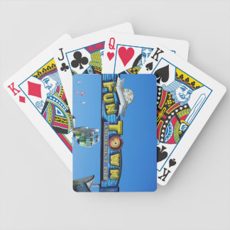 Seaside Heights Funtown Pier Jersey Shore Bicycle Playing Cards
