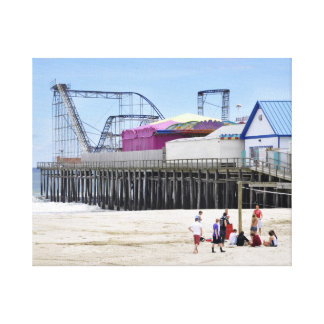 Seaside Heights, Jersey Shore Canvas Prints