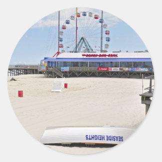 Seaside Heights, Jersey Shore Classic Round Sticker