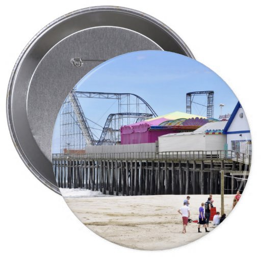 Seaside Heights, Jersey Shore Pinback Button