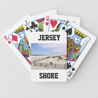 Seaside Heights, Jersey Shore Bicycle Poker Cards