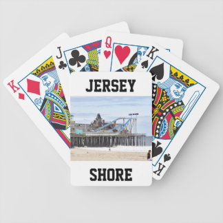 Seaside Heights, Jersey Shore Bicycle Playing Cards