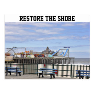 Seaside Heights, Jersey Shore Postcard