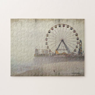 Seaside Heights N J  Amusement pier Jigsaw Puzzle