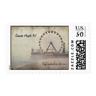 Seaside Heights New Jersey Boardwalk stamps