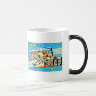 Seaside Heights New Jersey NJ Vintage Postcard- Magic Mug
