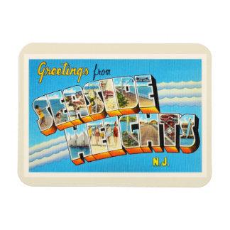 Seaside Heights New Jersey NJ Vintage Postcard- Magnet