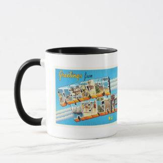 Seaside Heights New Jersey NJ Vintage Postcard- Mug