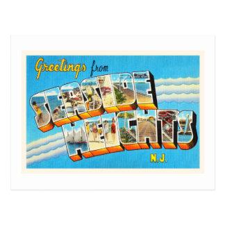 Seaside Heights New Jersey NJ Vintage Postcard- Postcard