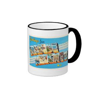 Seaside Heights New Jersey NJ Vintage Postcard- Ringer Mug