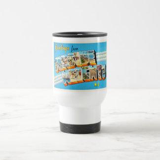 Seaside Heights New Jersey NJ Vintage Postcard- Travel Mug