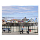 Seaside Heights, NJ Amusement Pier Photo Print