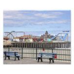 Seaside Heights, NJ Amusement Pier Photo Print