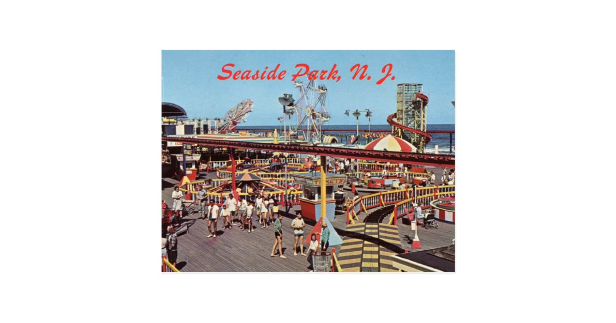 Seaside Heights Nj Postcard Zazzle Com