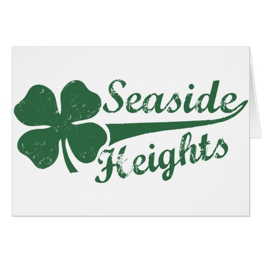 Seaside Heights NJ St. Patty's Day Card