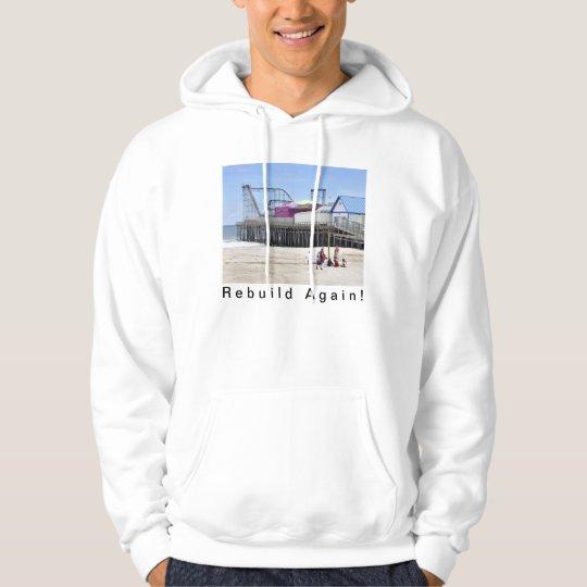 Seaside Heights Overcoming Sandy Hoodie