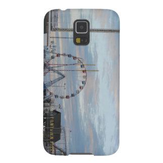 Seaside Heights Sunrise Funtown Pier Jersey Shore Galaxy S5 Cases