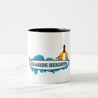 Seaside Heights. Two-Tone Coffee Mug
