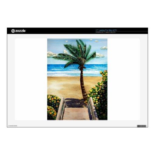 Seaside I Laptop Skin