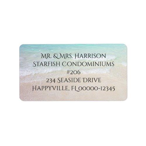 Seaside Lifestyle Return Address Label