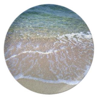 Seaside Melamine Plate
