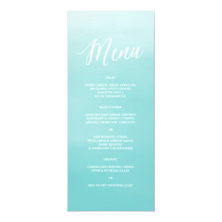 Seaside | Menu Card
