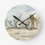 Seaside Mermaid Clock