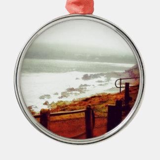 Seaside Metal Ornament