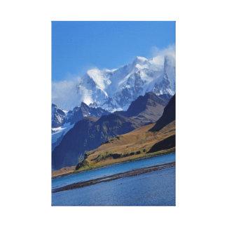 Seaside Mountains Canvas Print