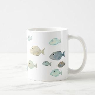 Seaside Mug - The Fish school Taza