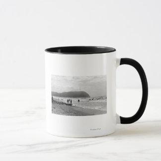 Seaside, Oregon Bathers and Tillimook Head Mug