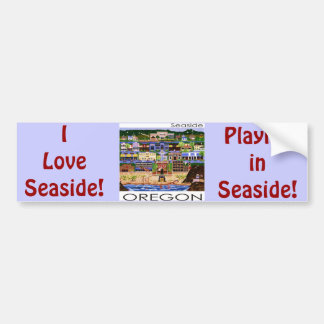 Seaside Oregon Car Bumper Sticker