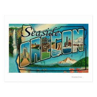 Seaside, Oregon - Large Letter Scenes 2 Postcards