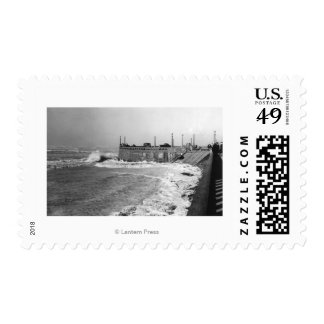 Seaside, Oregon Sou Wester Wave and Turnaround Postage