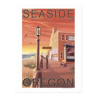 Seaside, OregonAquarium View Post Card