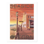 Seaside, OregonAquarium View Postcard