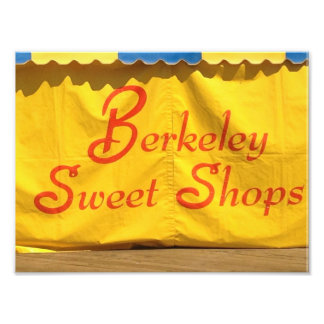 Seaside Park Berkeley Sweet Shop Photo Print